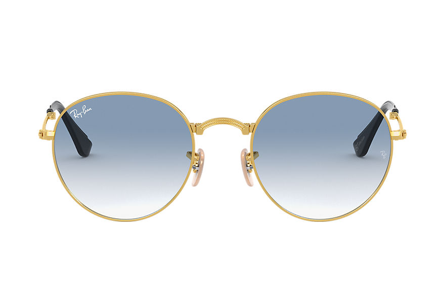 Ray-Ban  sonnenbrillen RB3532 UNISEX 003 round folding online exclusive gold 8053672614435