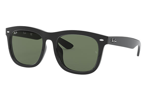 60dbff5290d Ray-Ban RB4260D Black - Injected - Green Lenses - 0RB4260D601 7157 ...