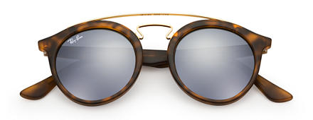 Ray-Ban RB4256 GATSBY I Tortoise with Grey Mirror lens