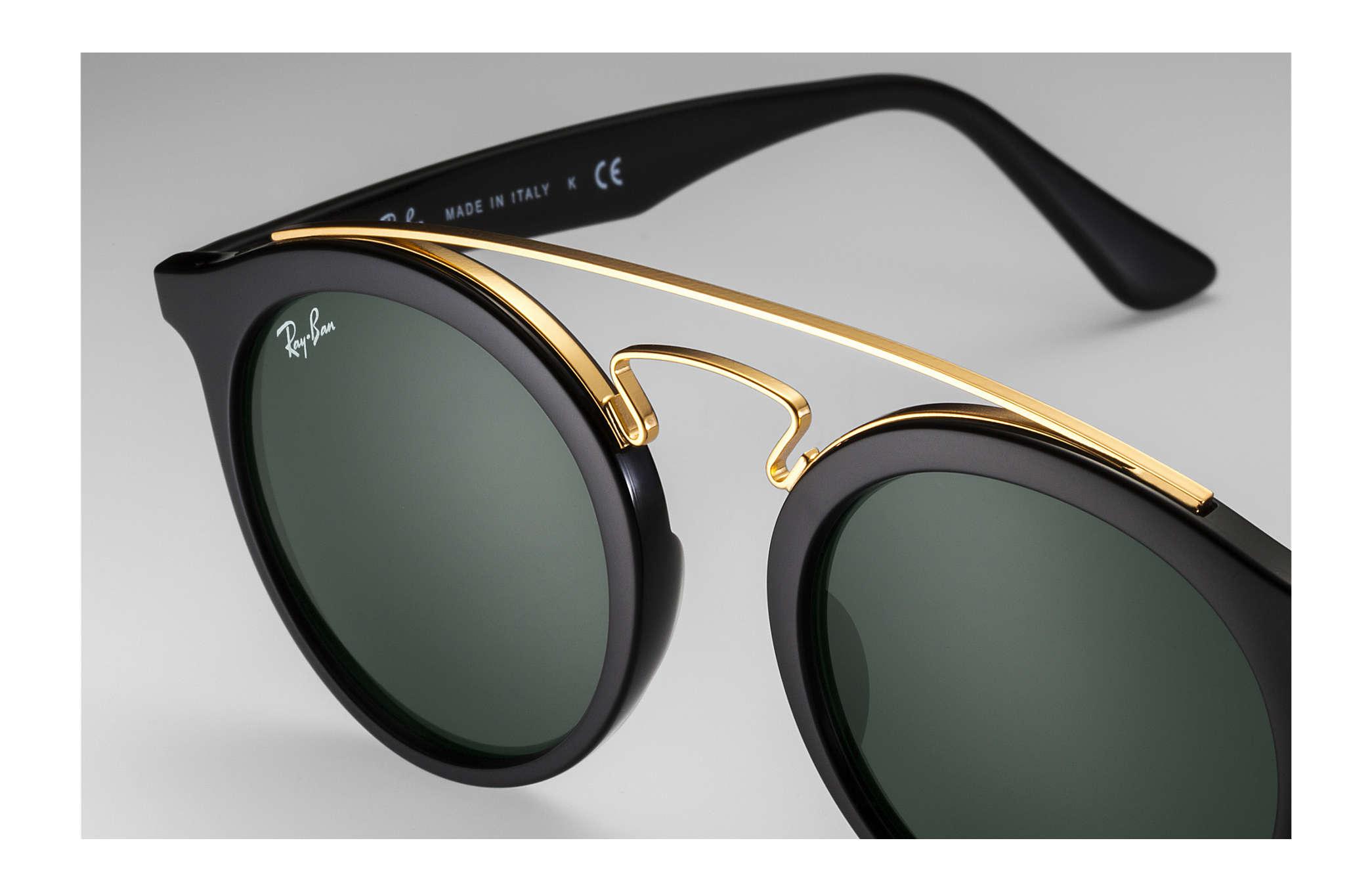 5f5332d6c5 Ray-Ban Rb4256 Gatsby I RB4256 Black - Propionate - Green Lenses ...