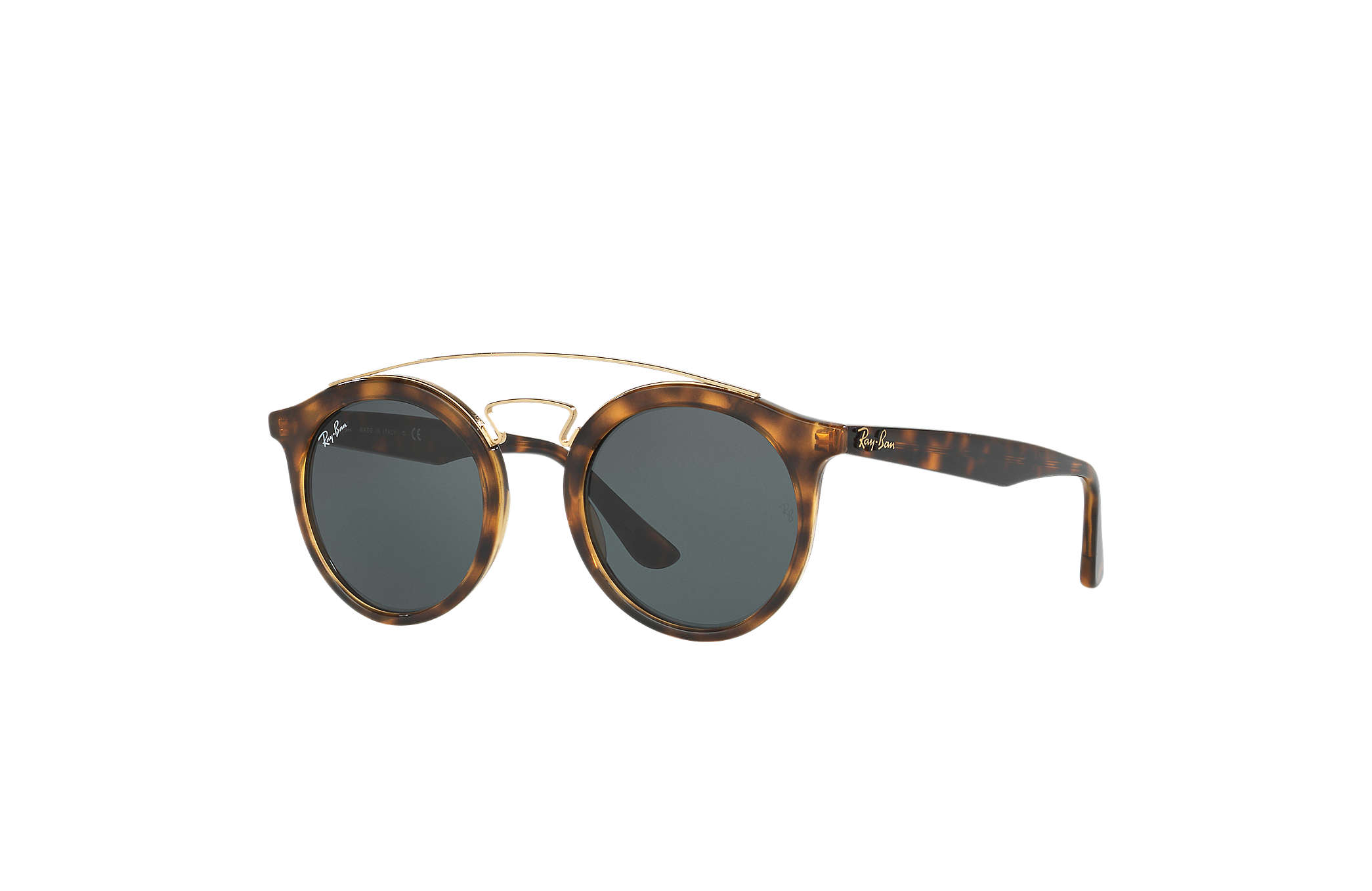 ea64a26d42841 Ray-Ban Rb4256 Gatsby I RB4256 Tortoise - Propionate - Green Lenses ...