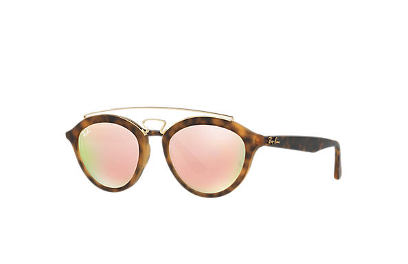 d39c284056 Ray-Ban Rb4257 Gatsby Ii RB4257 Tortoise - Propionate - Copper ...