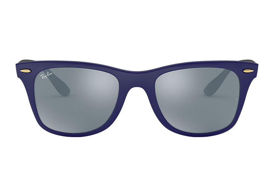 Ray-Ban  sunglasses RB4195 UNISEX 015 wayfarer liteforce blauw 8053672615913