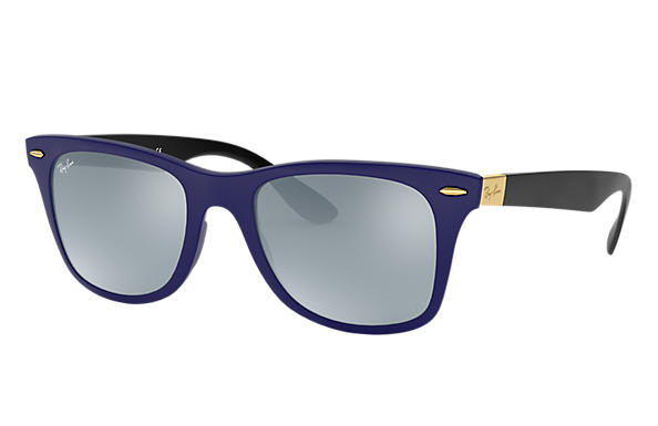 Ray-Ban 0RB4195-WAYFARER LITEFORCE Blue; Black SUN