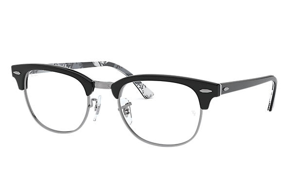 Ray-Ban 0RX5154-Clubmaster Optics Schwarz,Multicolor OPTICAL