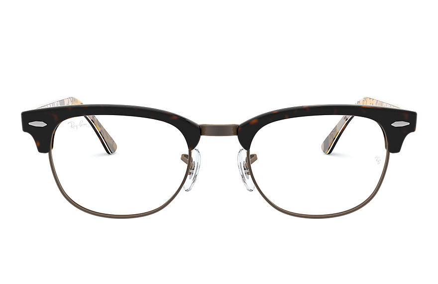 Ray-Ban  eyeglasses RX5154 UNISEX 016 clubmaster optics 호피색 8053672616699