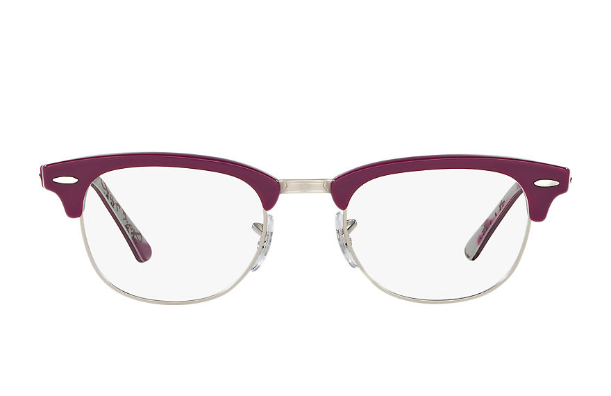 Ray-Ban  eyeglasses RX5154 UNISEX 017 clubmaster optics violet 8053672616736