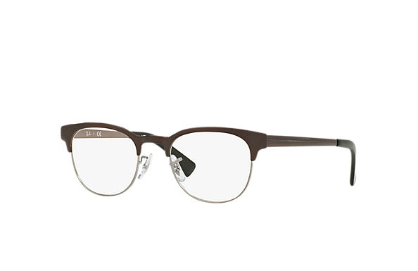 Ray-Ban 0RX6317-RB6317 Brown,Gunmetal OPTICAL