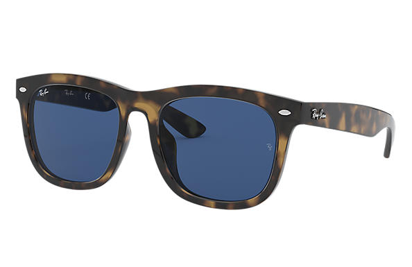 c0f805a6e084 Ray-Ban RB4260D Tortoise - Injected - Blue Lenses - 0RB4260D710 8057 ...