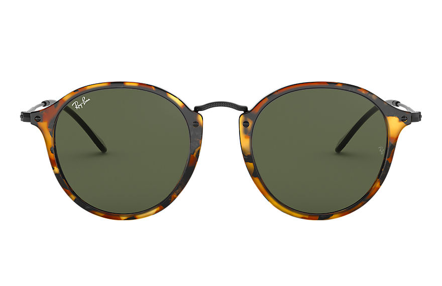 Ray-Ban  sunglasses RB2447 UNISEX 003 round fleck polished tortoise 8053672631913