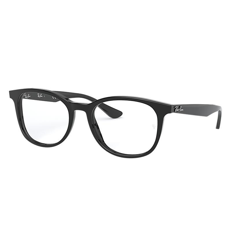 Image of Ray-Ban Black Eyeglasses - Rb5356