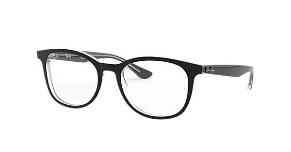 e12ef0e540 Ray-Ban prescription glasses RB5356 Black - Acetate - 0RX5356203452 ...