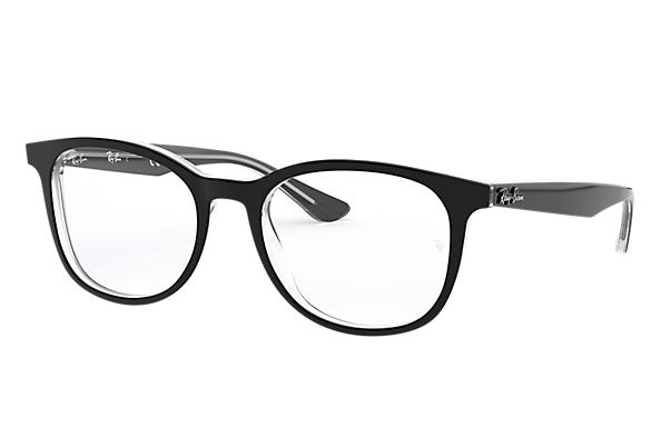 Ray-Ban 0RX5356-RB5356 Schwarz,Transparent OPTICAL