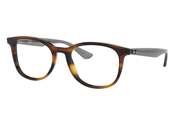 Ray-Ban 0RX5356-RB5356 Tortoise; Grijs OPTICAL