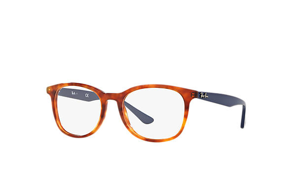Ray-Ban 0RX5356-RB5356 Tortoise; Blue OPTICAL