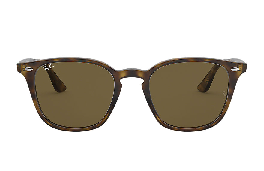 Ray-Ban RB4258 Tortoise avec verres Brown Classic B-15