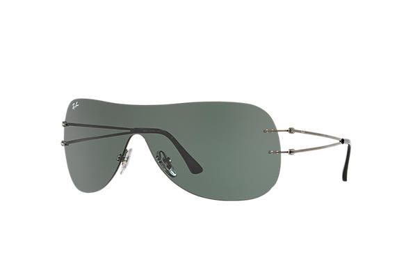 Ray-Ban RB8057 Gunmetal with Green Classic lens