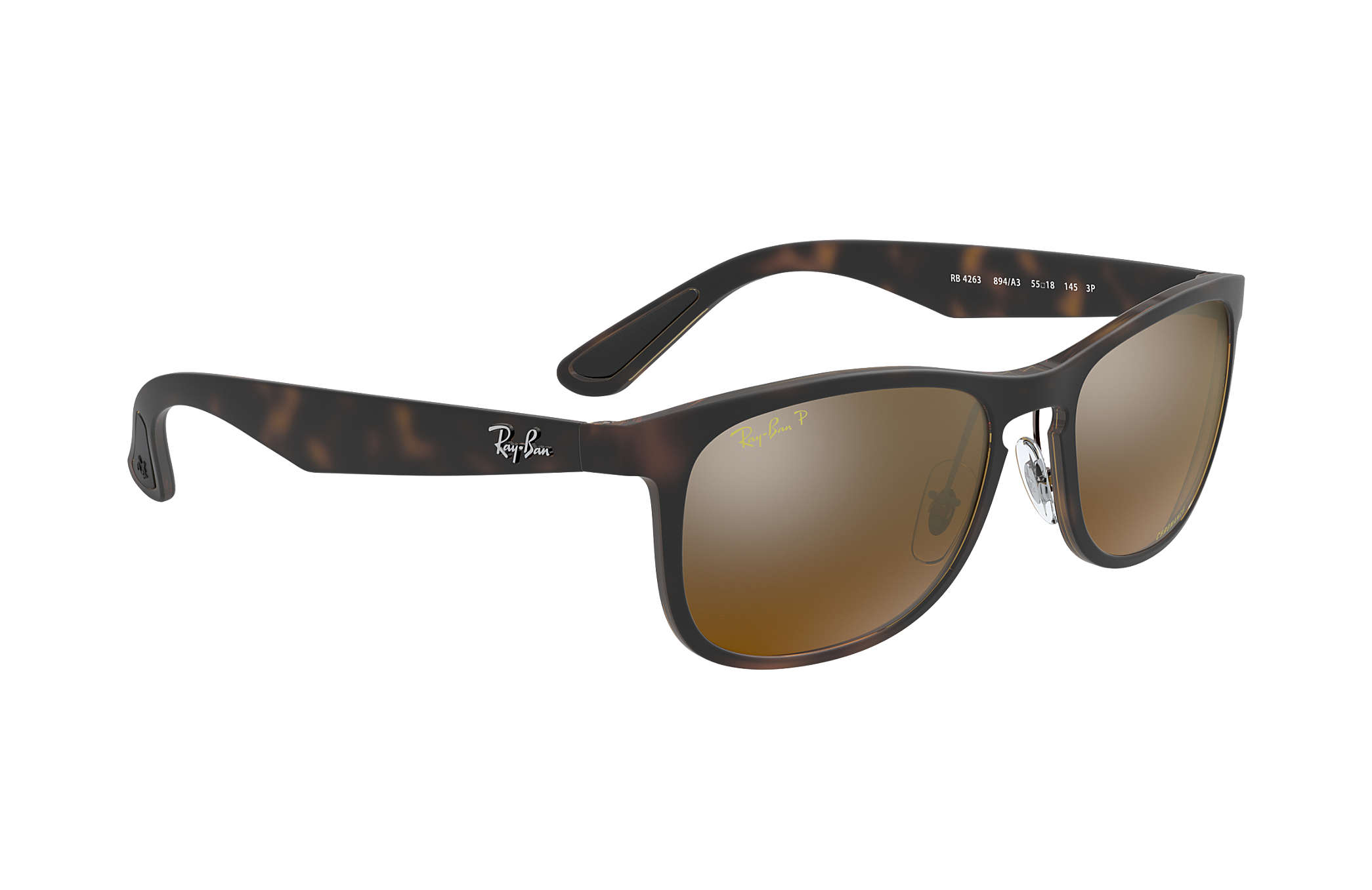 0acbf5b5b2 Ray-Ban Rb4263 Chromance RB4263 Tortoise - Nylon - Bronze Polarized ...