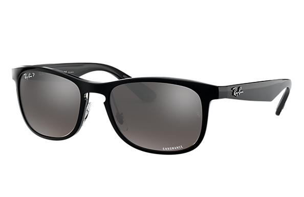 d94a64dbfc Ray-Ban Rb4263 Chromance RB4263 Black - Nylon - Silver Polarized ...
