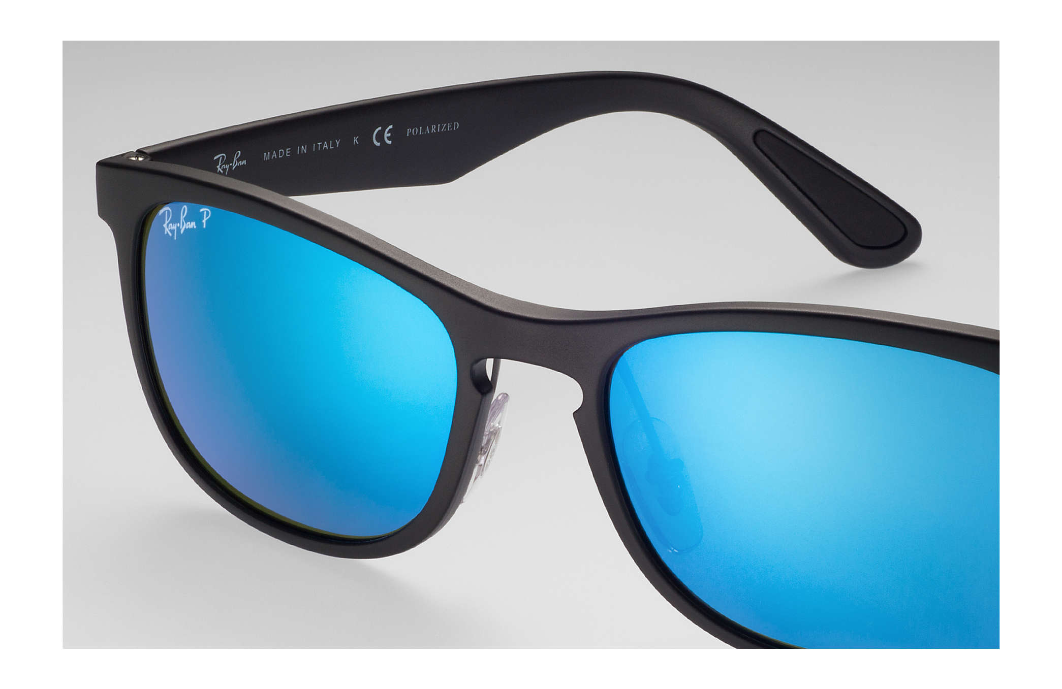 7b59834c0916 Ray-Ban Rb4263 Chromance RB4263 Black - Nylon - Blue Polarized ...