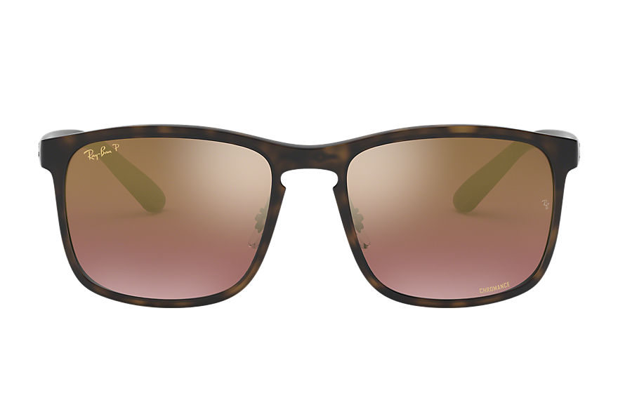 Ray-Ban  sunglasses RB4264 MALE 002 rb4264 chromance tortoise 8053672644944