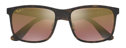 Ray-Ban RB4264 Chromance Tortoise with Purple Mirror Chromance lens