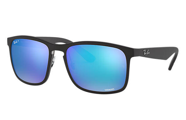 783043d3221fc Ray-Ban Rb4264 Chromance RB4264 Black - Nylon - Blue Polarized ...