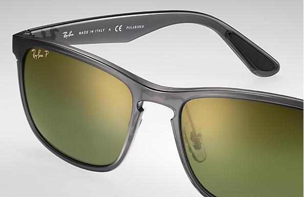 a6cf4ffabe895 Ray-Ban Rb4264 Chromance RB4264 Grey - Nylon - Green Polarized ...