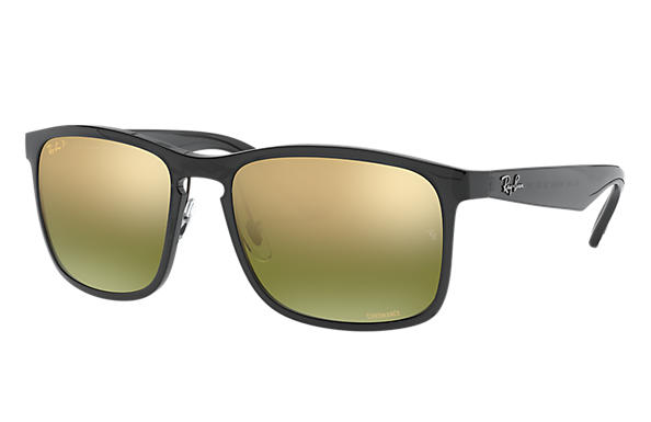 13df571d1ae97 Ray-Ban Rb4264 Chromance RB4264 Grey - Nylon - Green Polarized ...