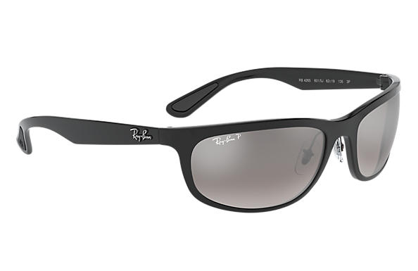 d463660b31 Ray-Ban Rb4265 Chromance RB4265 Black - Nylon - Silver Polarized ...