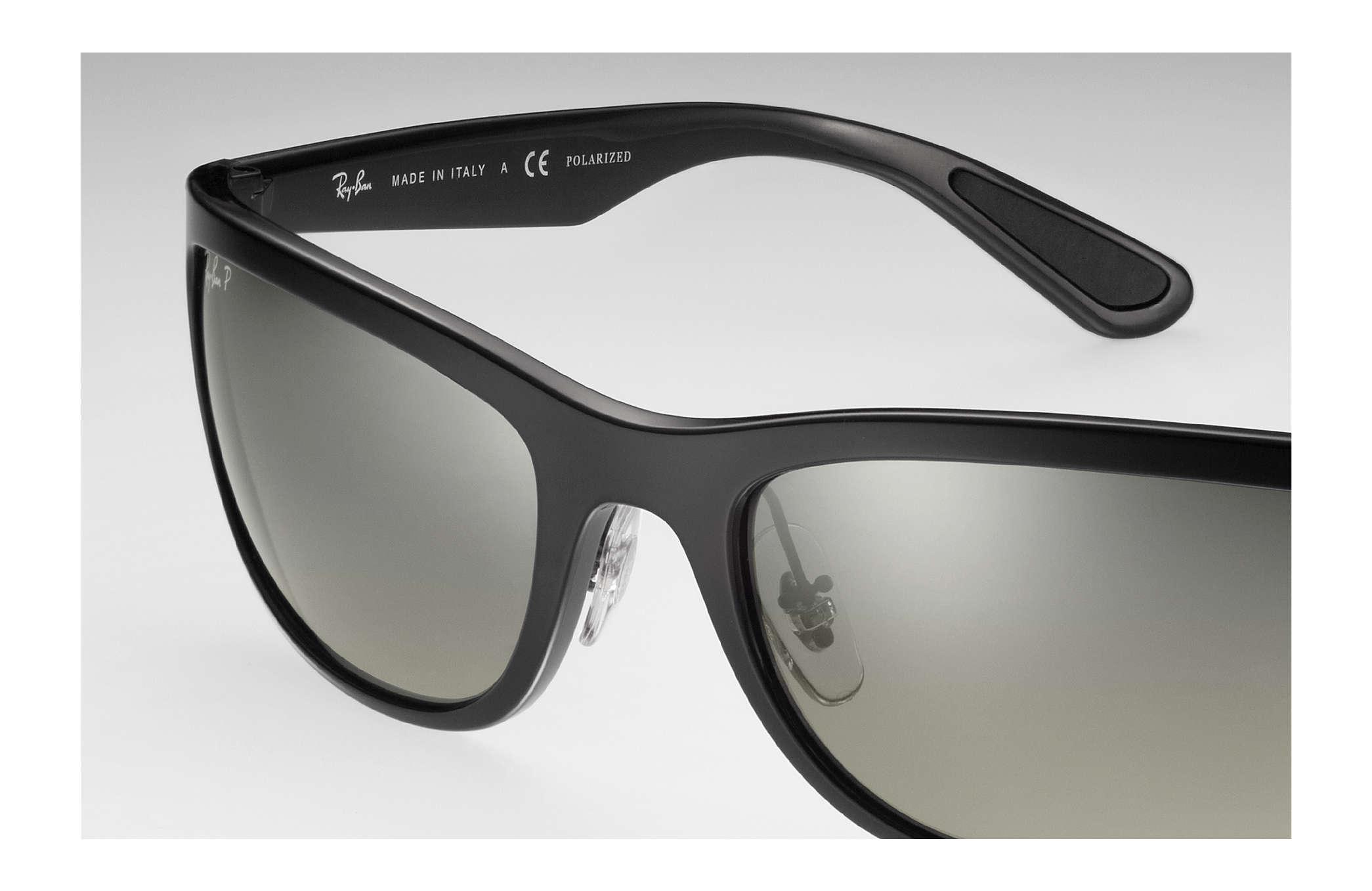 c325e5f2b3bfdb Ray-Ban Rb4265 Chromance RB4265 Black - Nylon - Silver Polarized ...