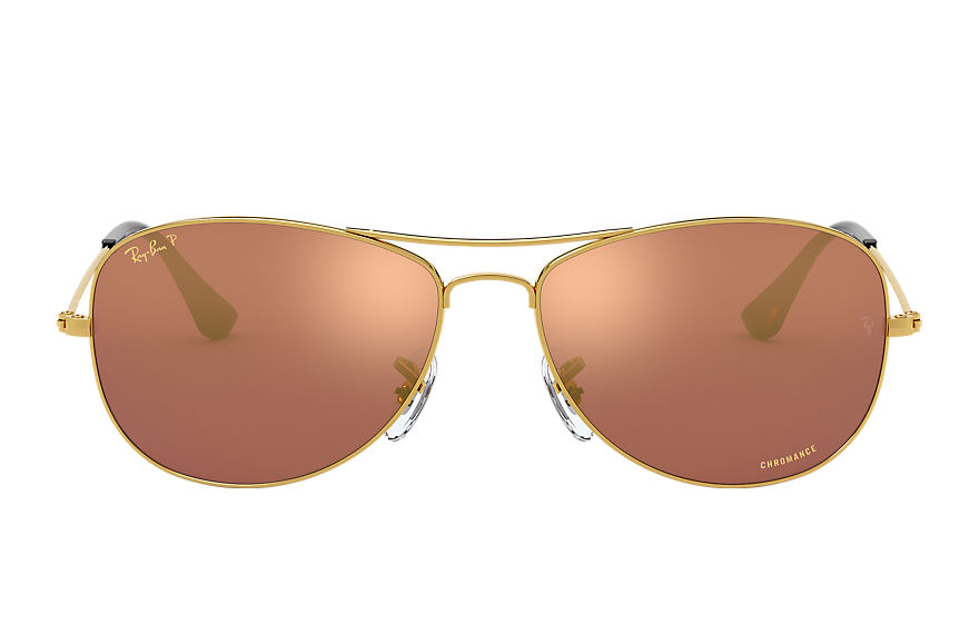 Ray-Ban  gafas de sol RB3562 MALE 003 rb3562 chromance oro 8053672645125