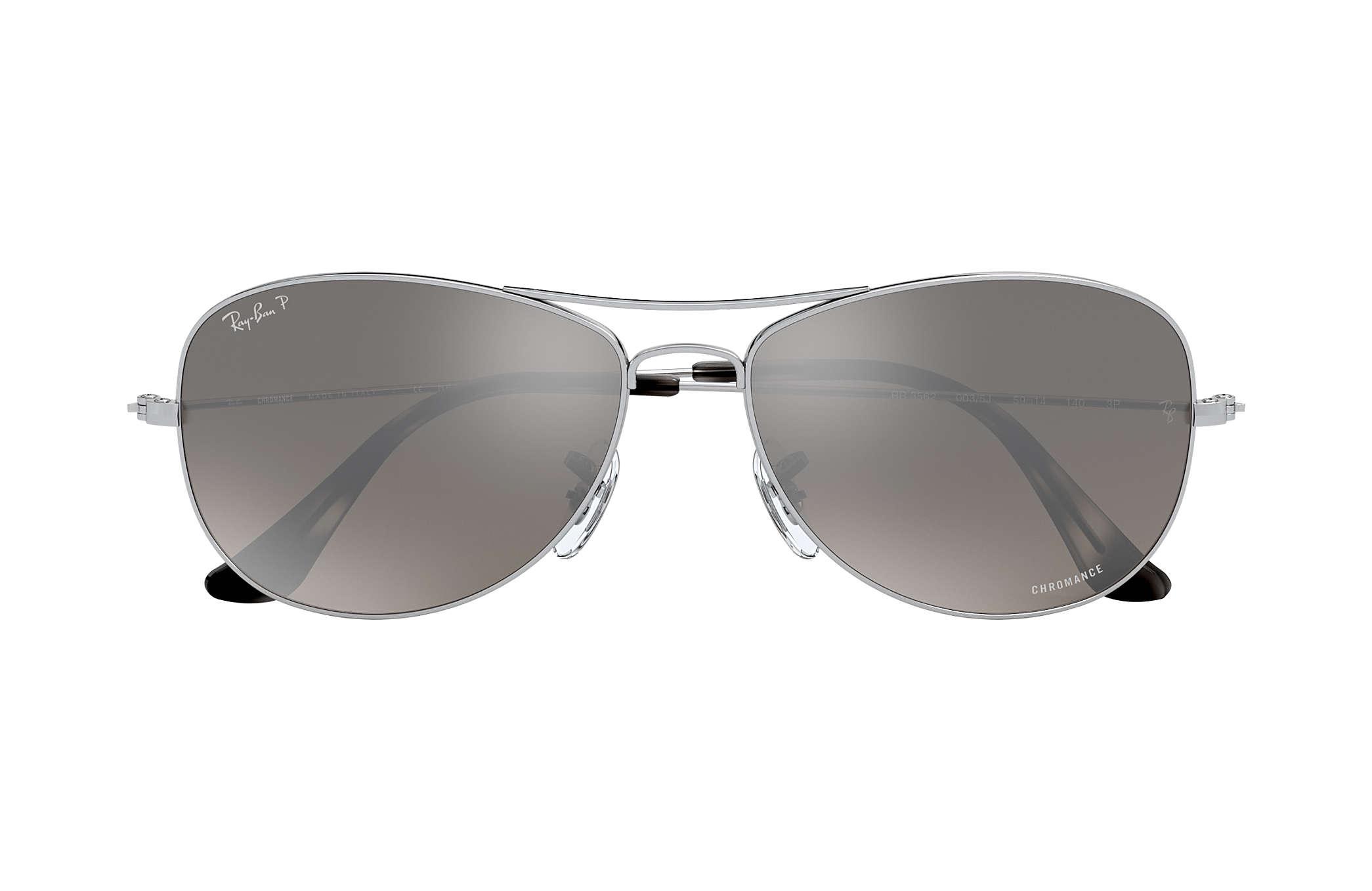2165c5cd8a Ray-Ban Rb3562 Chromance RB3562 Silver - Metal - Silver Polarized ...