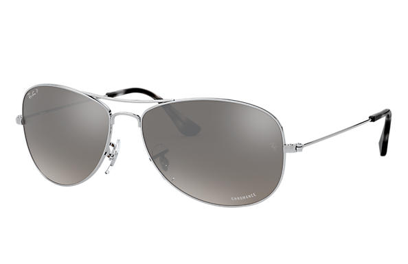 bb549c652a Ray-Ban Rb3562 Chromance RB3562 Silver - Metal - Silver Polarized ...