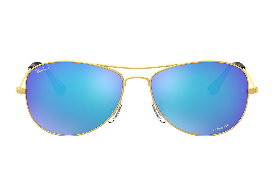 Ray-Ban  gafas de sol RB3562 MALE 001 rb3562 chromance oro 8053672645149
