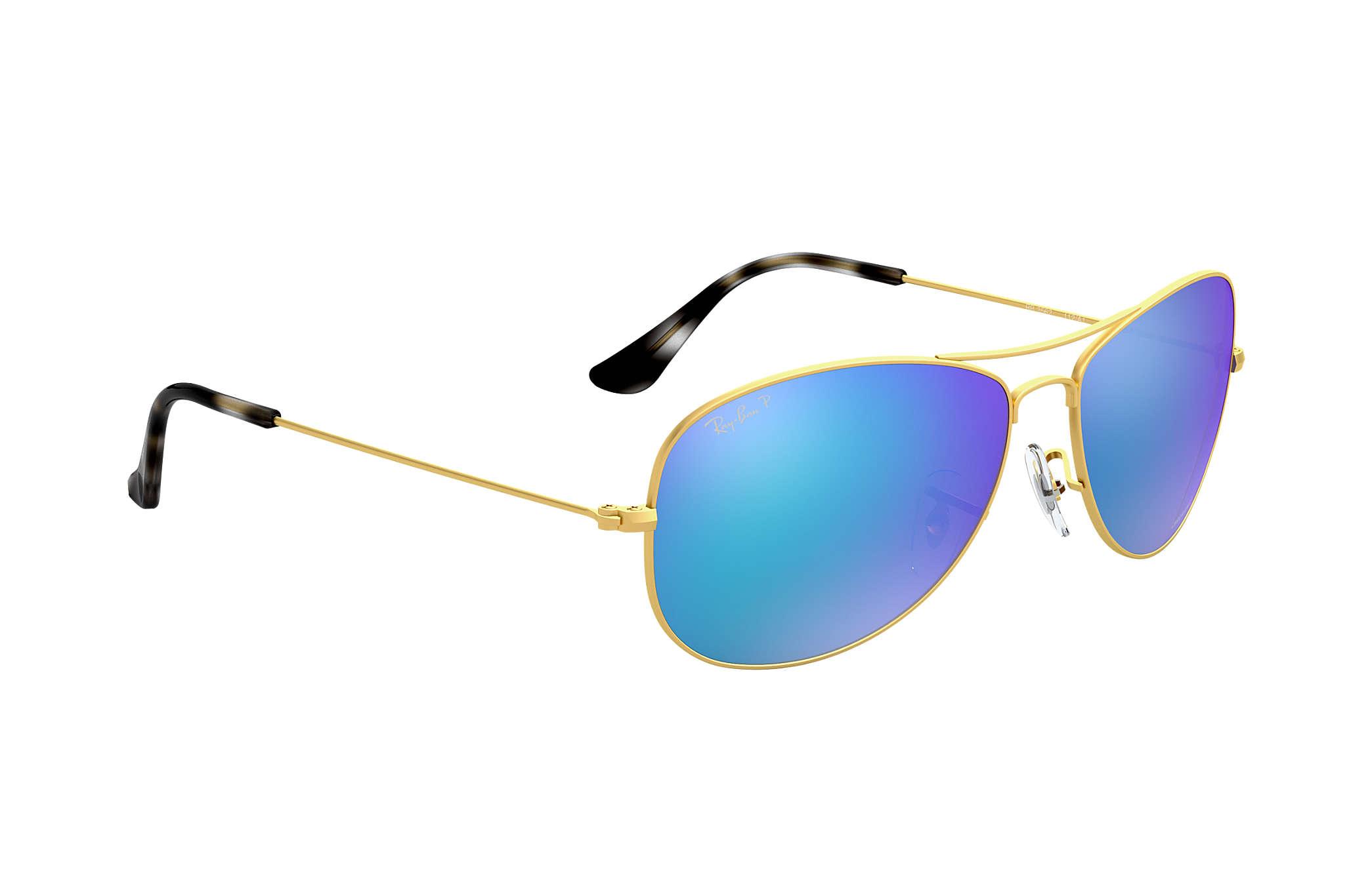 6d190e75f1a Ray-Ban Rb3562 Chromance RB3562 Gold - Metal - Blue Polarized Lenses ...
