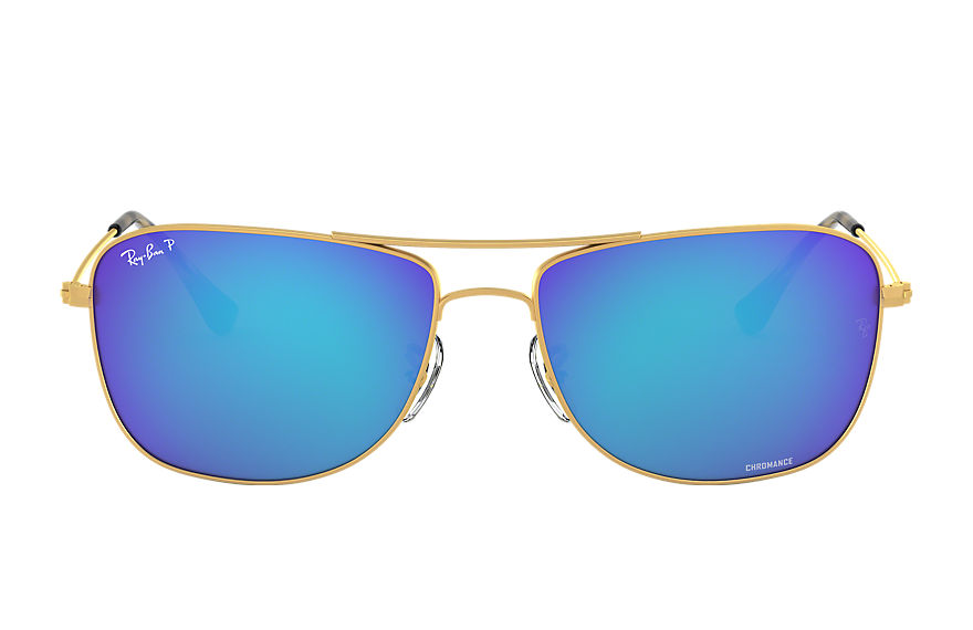 Ray-Ban  sunglasses RB3543 UNISEX 004 rb3543 chromance goud 8053672645194