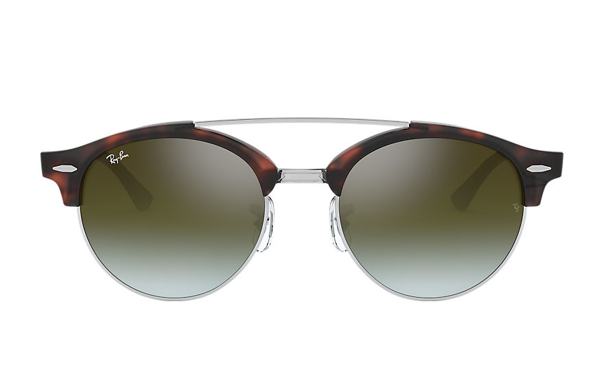 Ray-Ban  sonnenbrillen RB4346 MALE 006 clubround double bridge havana 8053672650273