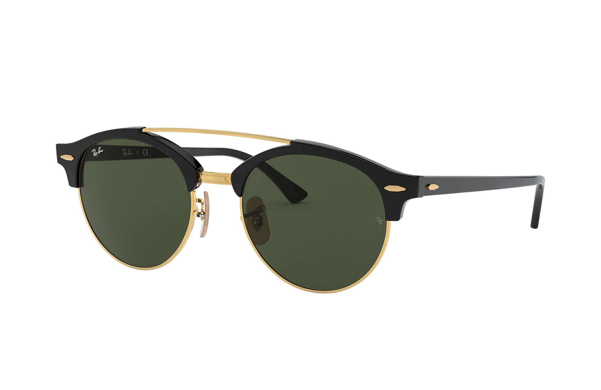 ray ban clubround black