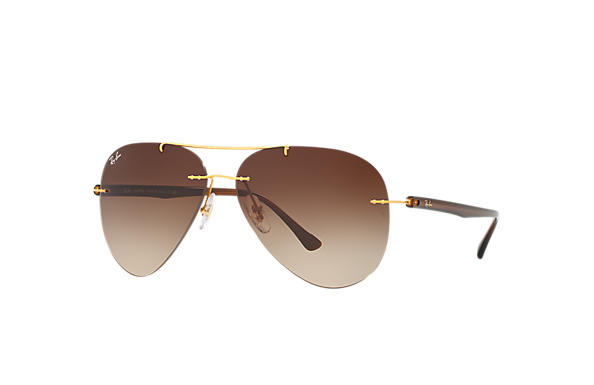 Ray-Ban 0RB8058-RB8058 Oro; Marrone SUN