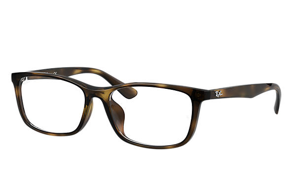 Ray-Ban 0RX7102D-RB7102D Tortoise OPTICAL