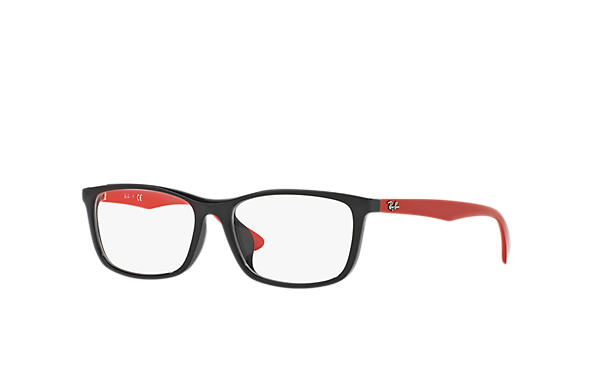 Ray-Ban 0RX7102D-RB7102D Black; Red OPTICAL