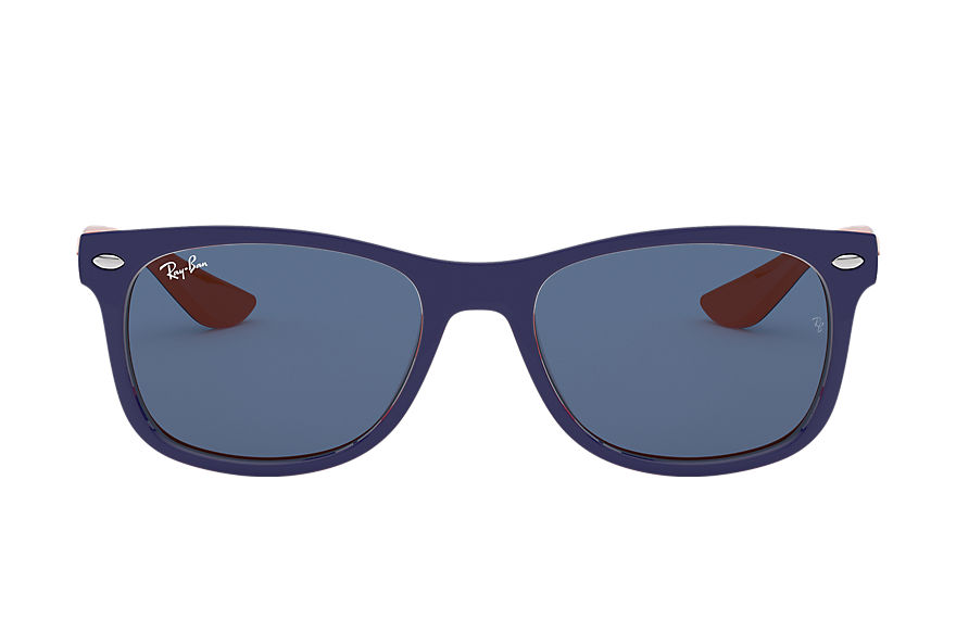 Ray-Ban Sunglasses NEW WAYFARER JUNIOR Blue with Blue Classic lens