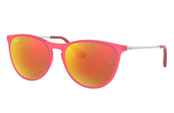 Ray-Ban 0RJ9060SF-IZZY Purple-Reddish; Silver SUN