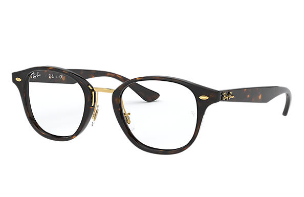 6b0c78d539 Ray-Ban prescription glasses RB5355 Black - Acetate - 0RX5355200048 ...