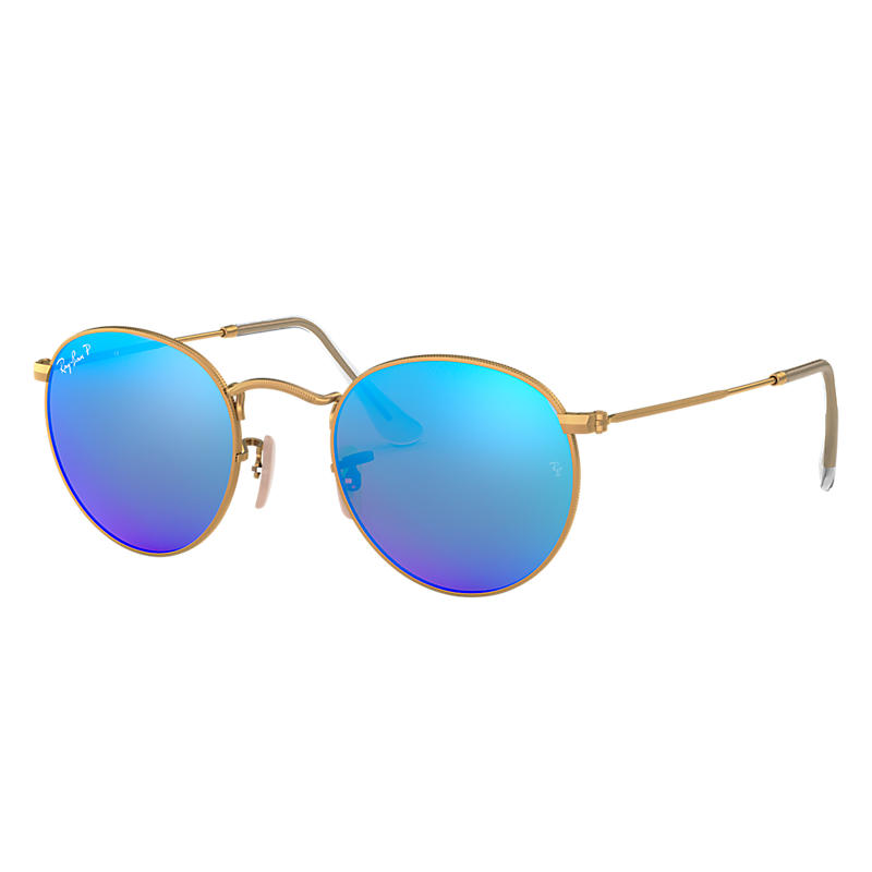 Ray-Ban RB3447 Polarised Oval Sunglasses