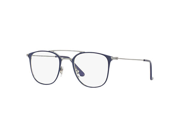 Ray-Ban 0RX6377-RB6377 Blue,Gunmetal; Gunmetal OPTICAL