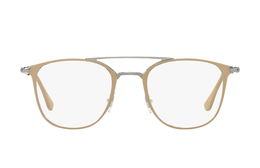 Ray-Ban  eyeglasses RX6377 UNISEX 005 rb6377 light brown 8053672667295