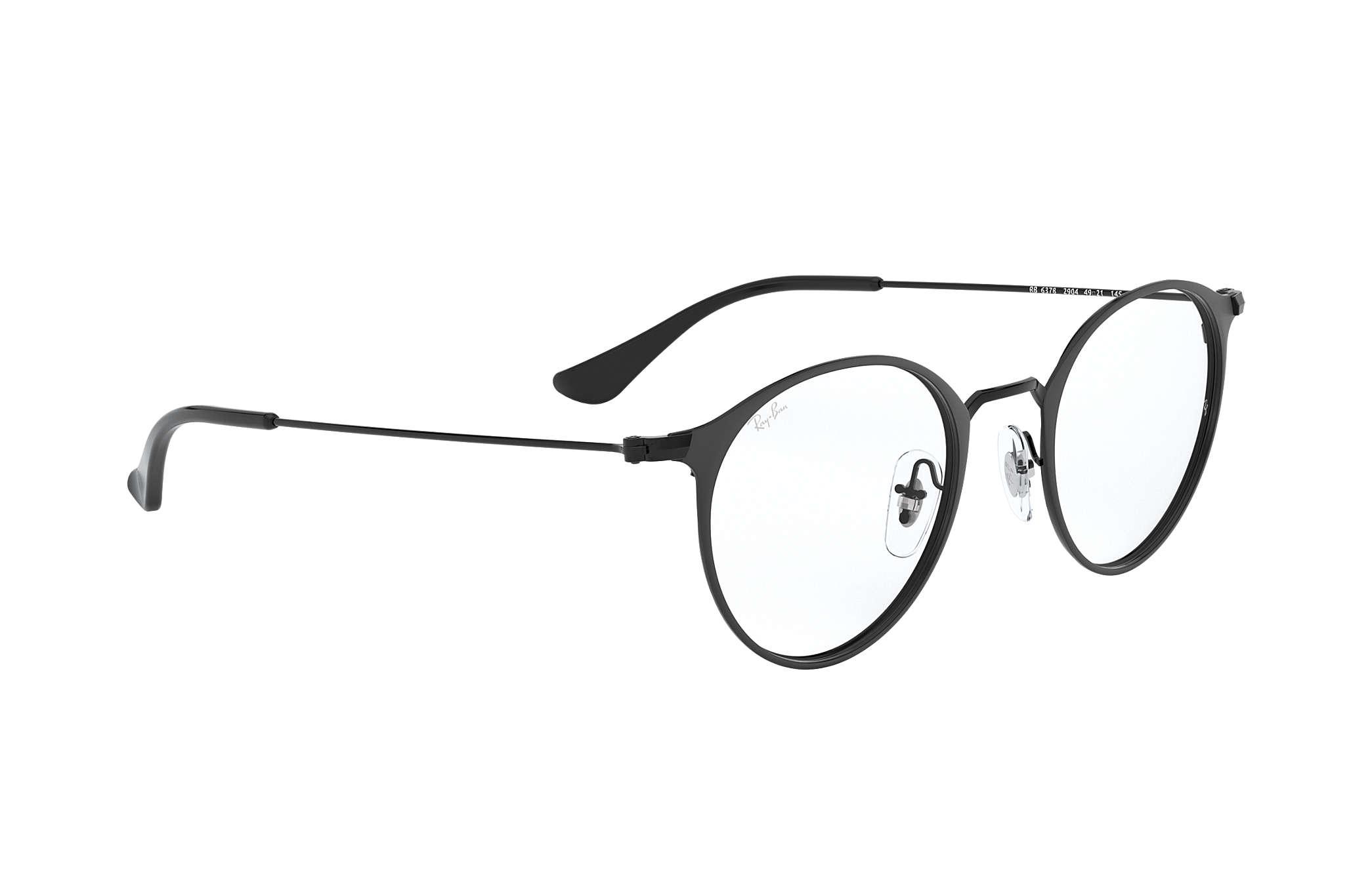 0438117a7e Gafas de vista Ray-Ban RB6378 Negro - Metal - 0RX6378290447 | Ray ...