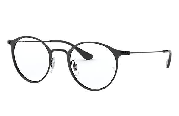 fcde20ead26 Ray-Ban prescription glasses RB6378 Black - Metal - 0RX6378290447 ...